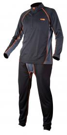 Fox Chunk Baselayer Set Black/Grey