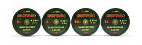 E-SOX Dropshot Fluorocarbon Leaders