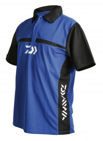 Daiwa Team Polo Shirts Blue/Black