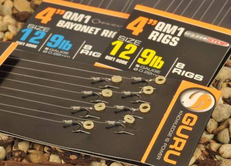 Guru 4 inch Bait Band QM1 Hooks to Nylon