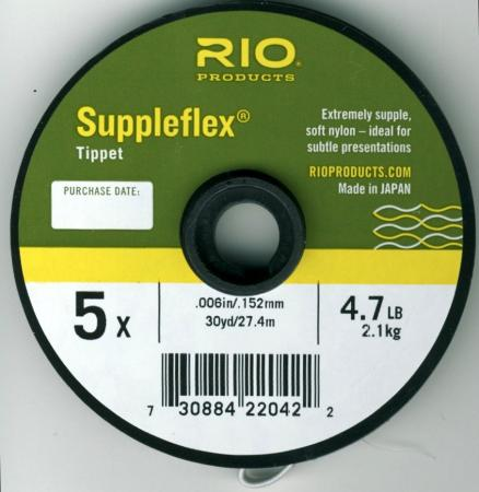RIO Suppleflex Freshwater Tippet Material