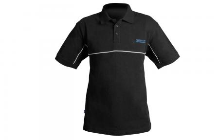 Preston Innovations DF Black Polo Shirts