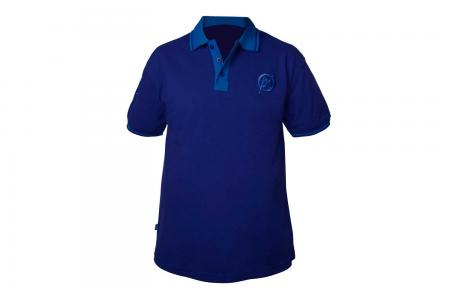 Preston Innovations Two Tone Blue Polo Shirts