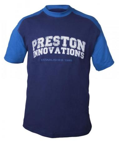Preston Innovations Two Tone Blue T-Shirts