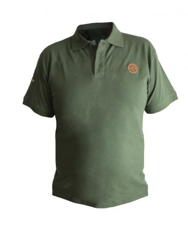 Avid Carp Green Polo Shirts
