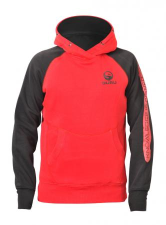 Guru Gamma Red Hoodies
