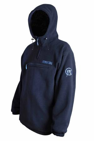 Preston Innovations Navy Hooded Pullover Fleece