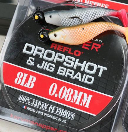 Korum Snapper Drop Shot & Jig Braid