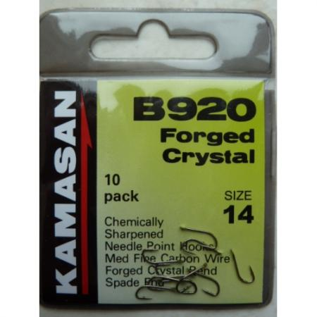 Kamasan B920 Forged Crystal Bend Hooks