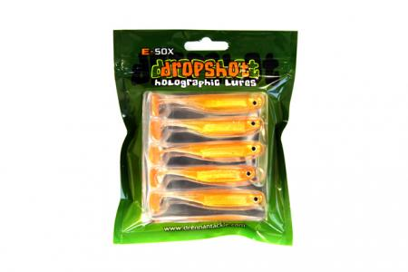 E-SOX Dropshot Big Eye Fry Paddle Tail Lures