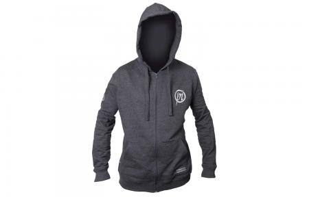 Preston Innovations Marl Grey Zip Hoodies