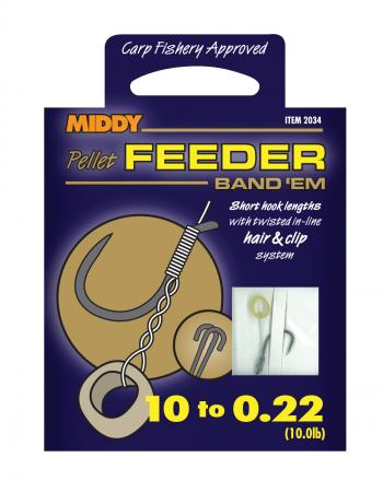 Middy Feeder Band Em Hooks to Nylon