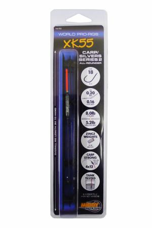 Middy XK55 World-Pro Series 2 Carp/Silvers All-Rounder Pole Rig