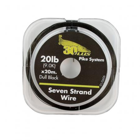 30 Plus Black Seven-Strand Wire