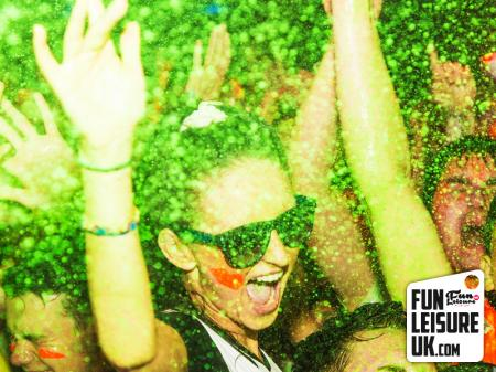 UV Neon Paint Party Hire