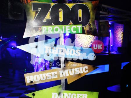 ZOO Project Theme Party Hire