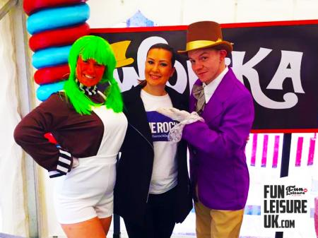 Willy Wonka Chocolate Factory Party Theme Hire