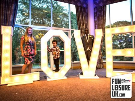 Big Love Sign Letters Hire