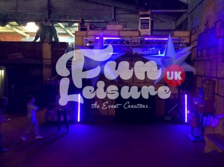 Teen UV Neon Disco Hire