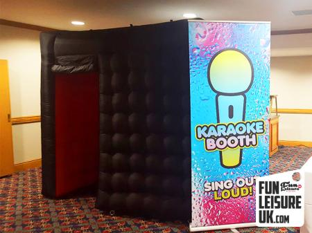 Portable Karaoke Booth Hire