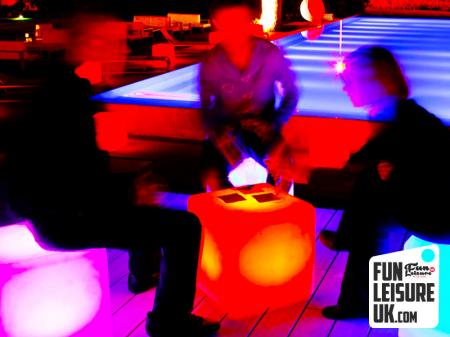 LED Cube Seating Hire