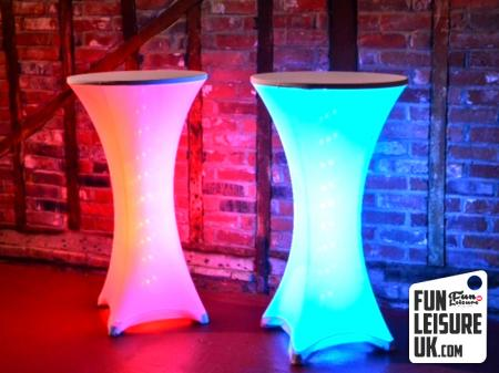 LED Poseur Table Hire
