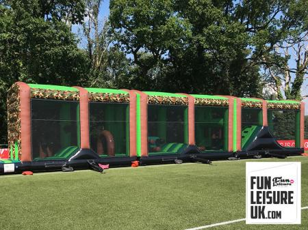 Giant Inflatable Obstacle Assault Course Hire (Various Sizes available)