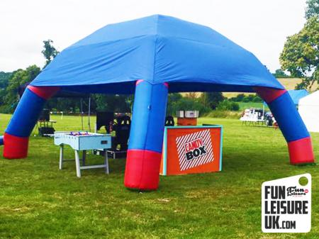 Inflatable Shelter / Cover Hire