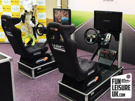 Racing Car Simulator Hire