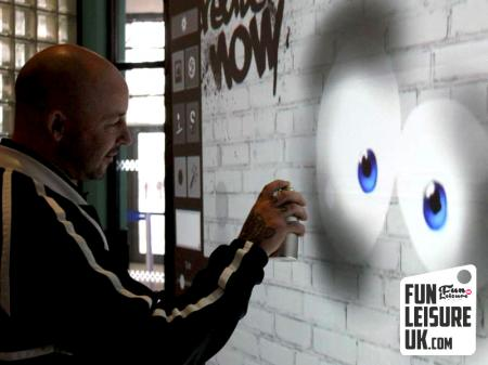 Digital Graffiti Wall Hire