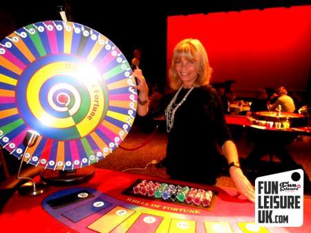 Wheel Of Fortune / Spin The Wheel Hire
