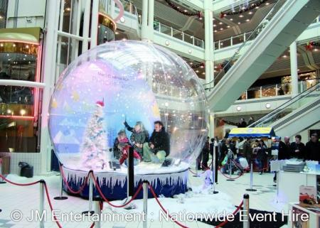Giant Inflatable Snow Globe Hire