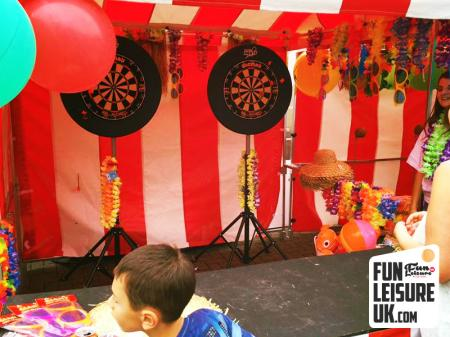 Prize Darts Fun Fair Side Stall Hire