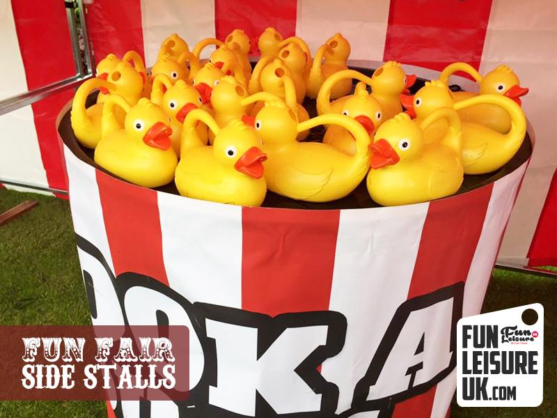 Exhibition Stall Hire : Hook a duck fun fair side stall hire leisure uk