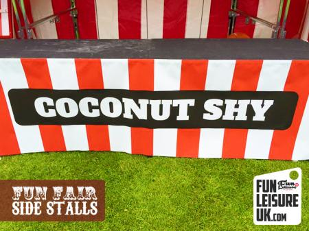 Coconut Shy Fun Fair Side Stall Hire