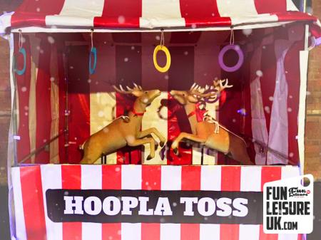 Christmas Reindeer Hoopla Side Stall Game Hire