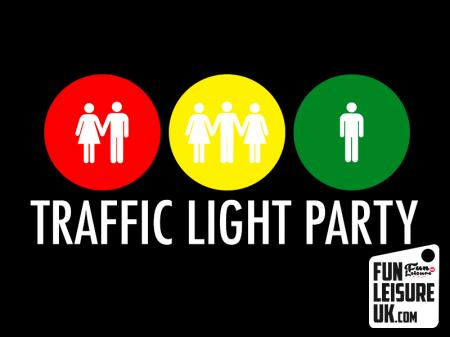 UV Traffic Light Party Hire