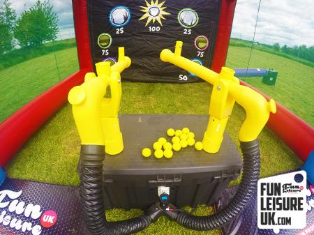 Cannonball Air Blaster Game
