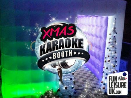 Christmas Karaoke Booth Hire