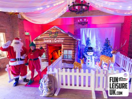 Christmas Grotto Hire / Silver