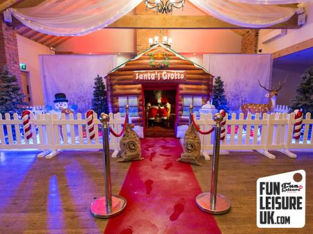 Christmas Grotto Hire / Gold