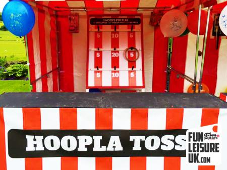 Hoopla Toss Fun Fair Side Stall Hire