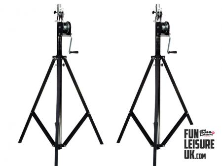 Wind Up Light Stands Hire