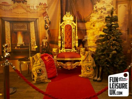 Santa's Grotto Meet & Greet Hire