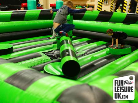 Total Wipeout Inflatable Hire