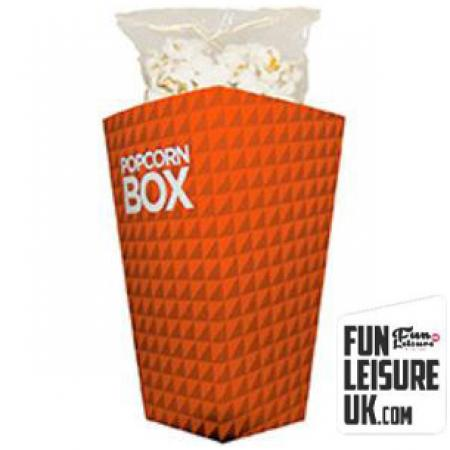 Branded Pop Corn Boxes & Machine Hire