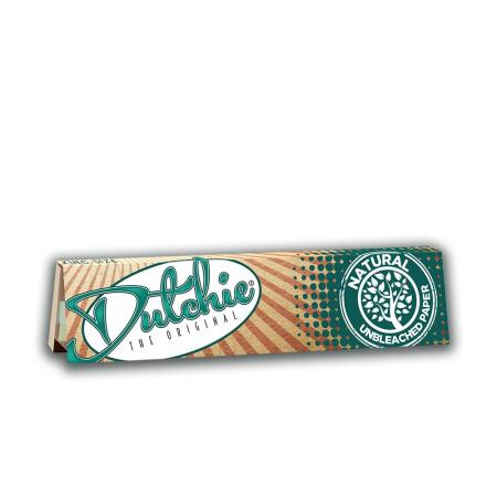 Dutchie King Size Slim Natural Unbleached Rolling Papers