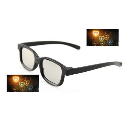 Diffraction Glasses - Heart Pattern
