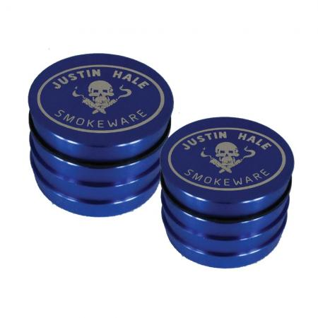 Justin Hale 4-part Grinder Blue