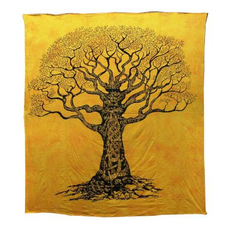The Dry Tree Design Bedcover Double Bed Size